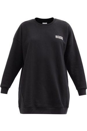 Ganni Software Organic Cotton-blend Jersey Sweatshirt - Womens