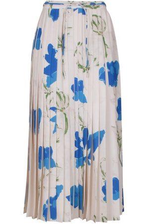 REJINA PYO Irma Floral-print Pleated Skirt - Womens - Multi