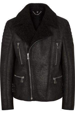 Belstaff Fraser shearling biker jacket