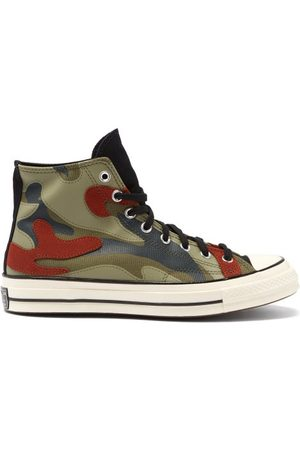 Converse Chuck 70 Camo-print Canvas High-top Trainers - Mens - Camouflage