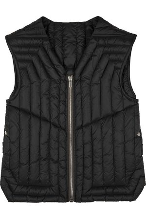 Rick Owens Quilted shell gilet