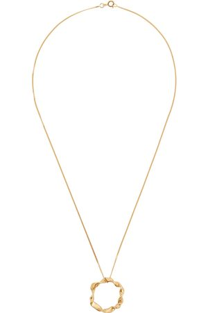 Completed Works Flux 14kt -plated vermeil necklace