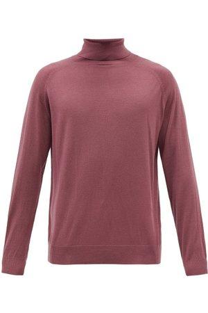 Nanushka Zade Roll-neck Merino-wool Sweater - Mens