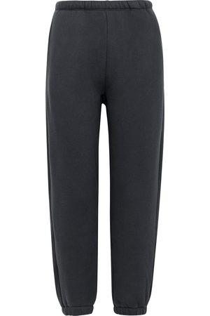 American Vintage Ikatown dark grey cotton-blend sweatpants