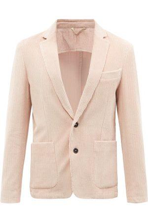 OFFICINE GENERALE Men Blazers - Single-breasted Cotton-corduroy Suit Jacket - Mens