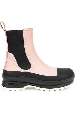 Stella McCartney Trace light faux leather Chelsea boots