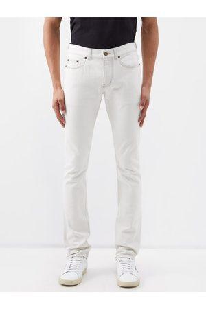 Saint Laurent Men Slim - Mid-rise Slim-leg Jeans - Mens