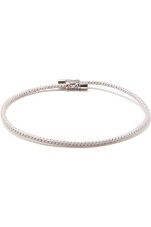 MIANSAI Orson Sterling-silver And Cord Bracelet - Mens