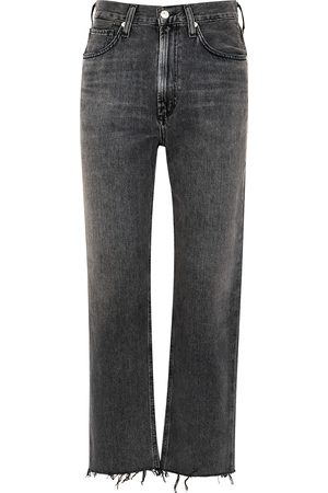 Citizens of Humanity Daphne grey straight-leg jeans