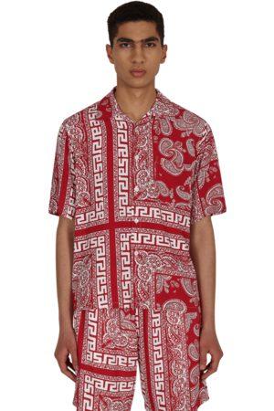 Aries Bandana print hawaiian shirt L