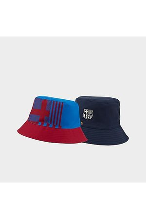 Nike F.C. Barcelona Reversible Bucket Hat in /Red/Obsidian Size Large/X-Large 100% Polyester/Fiber