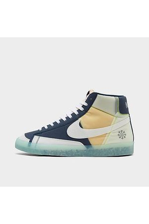 Nike Men's Blazer Mid '77 Move to Zero Casual Shoes in /Armory Navy Size 7.5