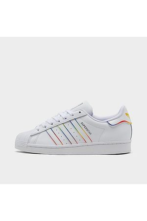 adidas Casual Shoes - Big Kids' Originals Superstar Casual Shoes Size 4.0 Leather