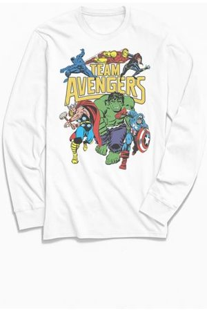 Urban Outfitters Team Avengers Classic Long Sleeve Tee