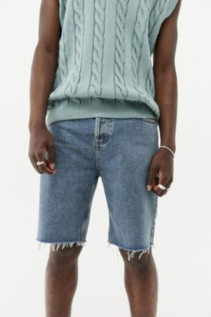 BDG Light Wash Relaxed Dad Fit Short