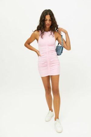 Motel Paladia Ruched Bodycon Mini Dress