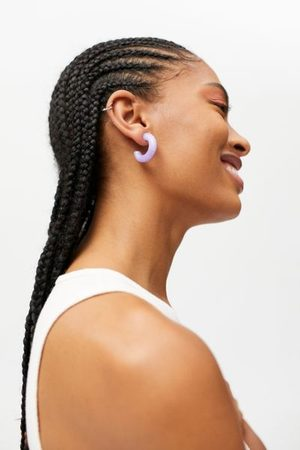 Urban Outfitters Chunky Translucent Hoop Earring
