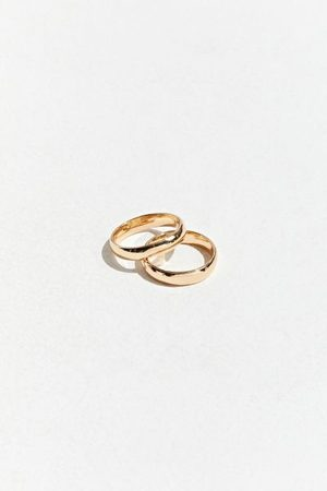 Urban Outfitters Band Ring Set