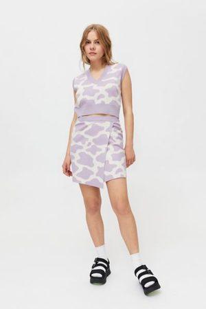 Milk It Cattle Mini Skirt