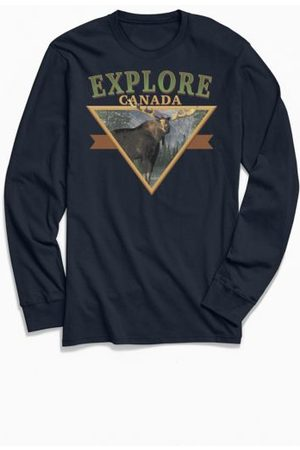 Urban Outfitters Travel Apparel Explore Canada Long Sleeve Tee