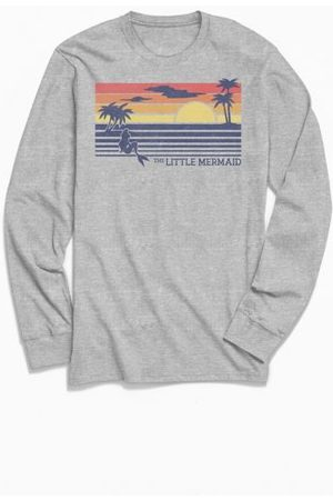 Urban Outfitters The Little Mermaid Sunset Long Sleeve Tee