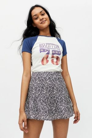 Urban Outfitters UO Lili Floral Ruffle Skort