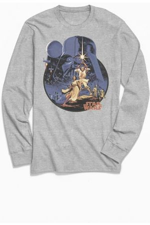 Urban Outfitters Star Wars Vintage Poster Long Sleeve Tee