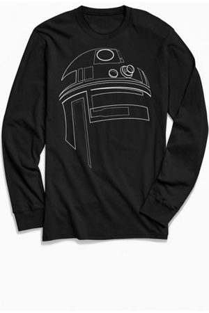 Urban Outfitters Star Wars R2-D2 Outline Long Sleeve Tee