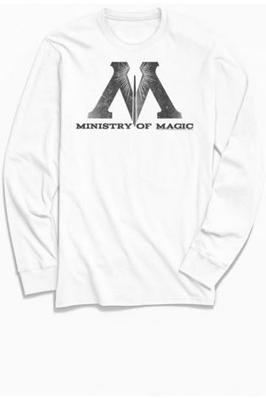 Urban Outfitters Harry Potter Ministry Of Magic Long Sleeve Tee