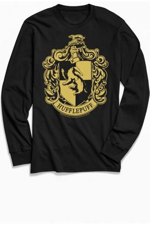 Urban Outfitters Harry Potter Hufflepuff Crest Long Sleeve Tee