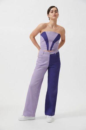 Hosbjerg Alina Colorblock High-Waisted Pant