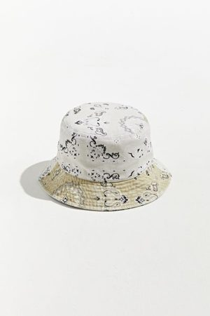 Urban Outfitters UO Washed Paisley Patchwork Bucket Hat