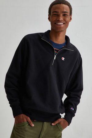 Champion 1/4 Zip Mock Neck Pullover Sweatshirt