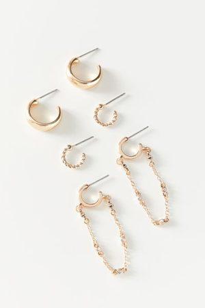 Urban Outfitters Raia Mini Hoop Earring Set