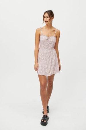 Dress Forum Sweetheart Tie-Shoulder Mini Dress