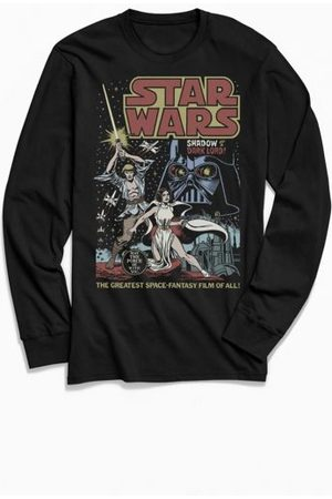 Urban Outfitters Star Wars Shadow Of A Dark Lord Long Sleeve Tee