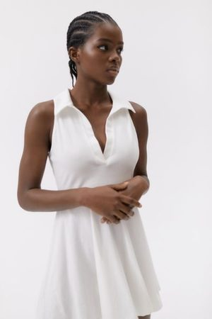 Urban Outfitters UO Alexa Sleeveless Polo Mini Dress