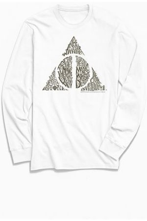 Urban Outfitters Harry Potter Deathly Hallows Long Sleeve Tee