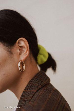 Urban Outfitters Tessa Chunky Tube Hoop Earring Set