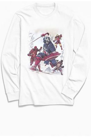 Urban Outfitters Marvel Avengers Assemble Long Sleeve Tee