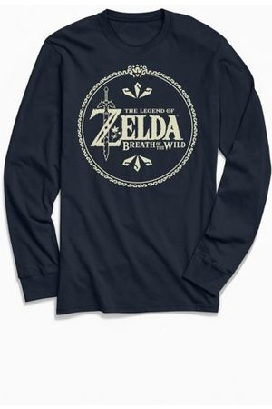 Urban Outfitters The Legend Of Zelda Breath Of The Wild Long Sleeve Tee