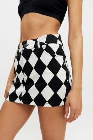 Motel Broomy Micro Mini Skirt