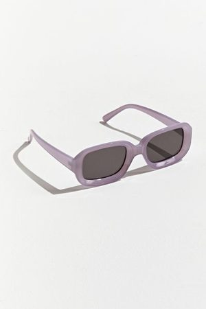 Urban Outfitters Salmon Rounded Rectangle Sunglasses