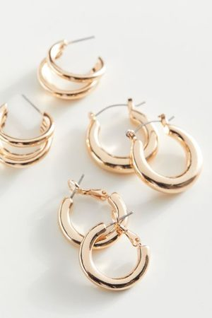 Urban Outfitters Everyday Mini Hoop Earring Set