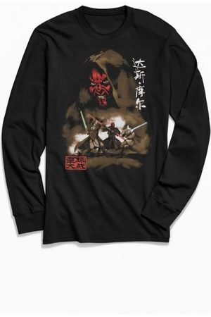 Urban Outfitters Star Wars Darth Maul Long Sleeve Tee