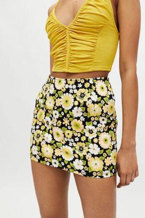 Motel Ima Printed Pelmet Mini Skirt