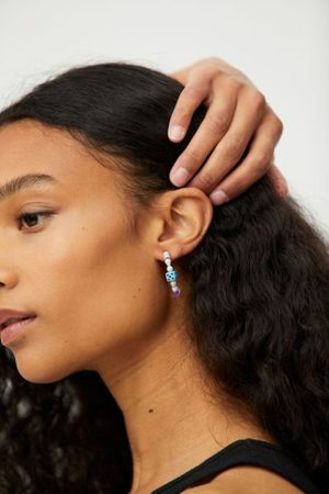 Urban Outfitters Jezebel Beaded Hoop Earring