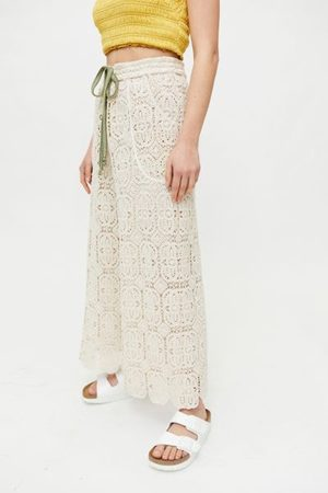Kimchi Blue Em Crochet Wide Leg Pant