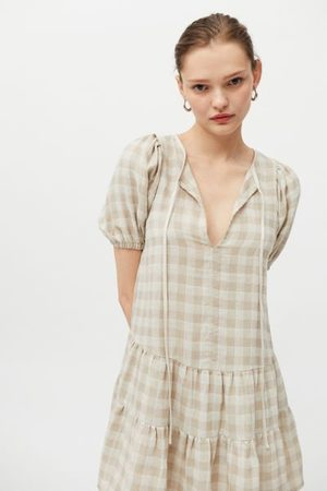 Little Lies Women Party Dresses - Lana Gingham Mini Dress