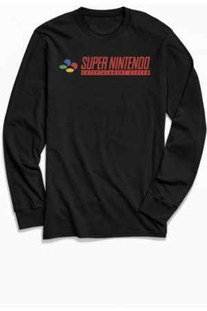 Urban Outfitters Super Nintendo Classic Long Sleeve Tee
